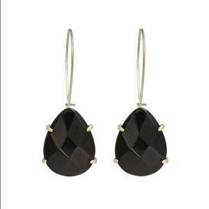 Kendra Scott Allison Drop Earrings Black